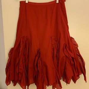 Odille - Gorgeous Red Skirt - Size 2 💃🏻